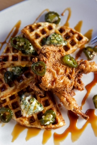 Quail and Waffle