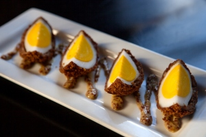 Scotch Egg Plate